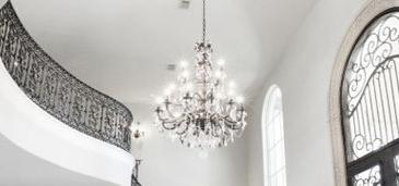chandelier-instillation